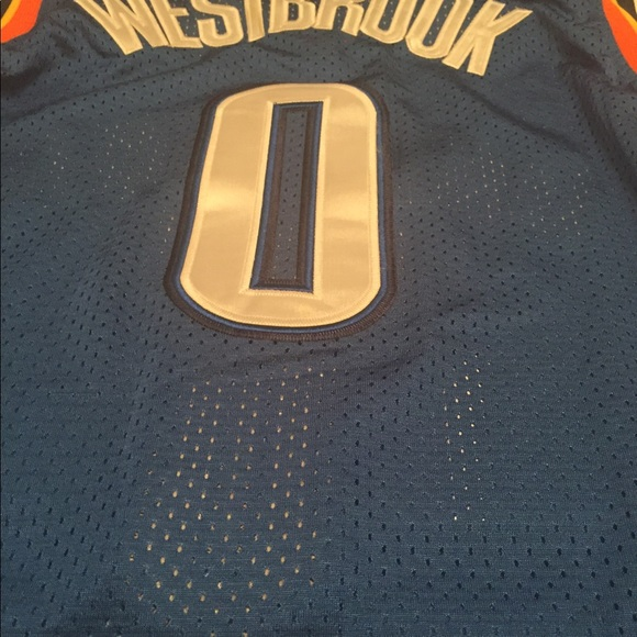 online store 736ec eb291 Russell Westbrook NBA Oklahoma City Jersey NWT